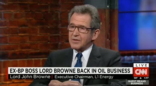 Lord Browne on CNN